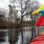 Baidarėmis Lėvens upėje