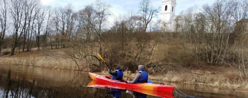 Maršrutas Lėvens upe